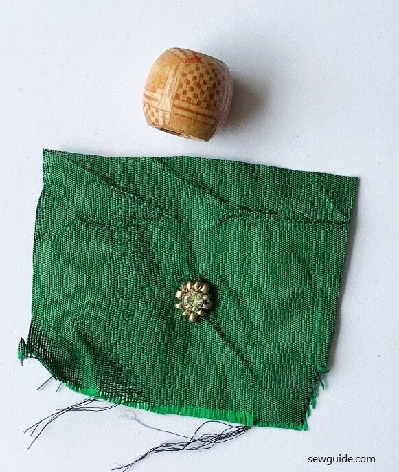 fabric beads DIY tutorial